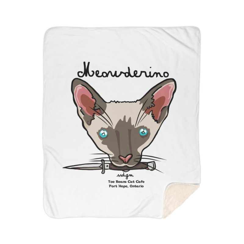 Meowderino - MFM Fan Home Blanket by Toe Beans Cat Cafe Online Shop