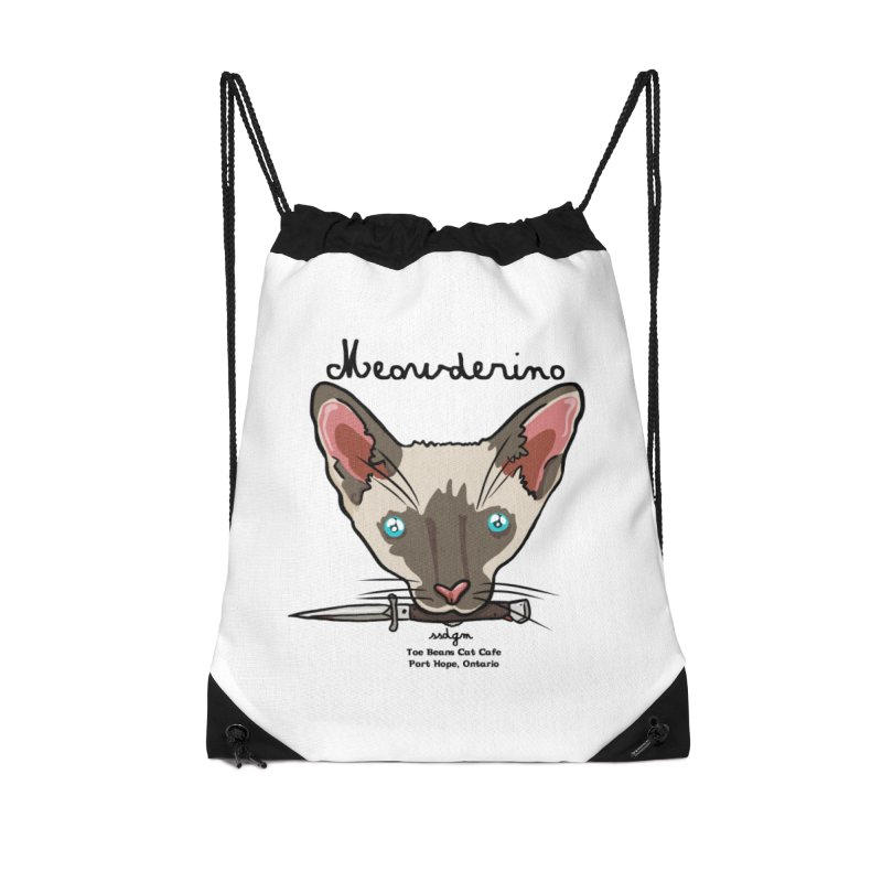 Meowderino - MFM Fan Accessories Drawstring Bag Bag by Toe Beans Cat Cafe Online Shop