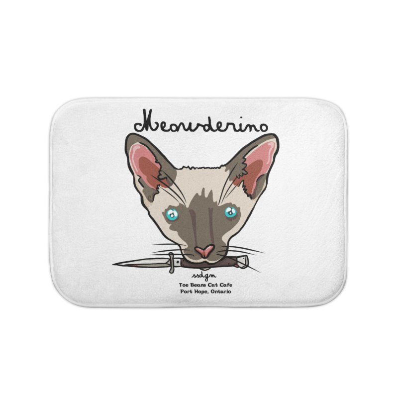 Meowderino - MFM Fan Home Bath Mat by Toe Beans Cat Cafe Online Shop