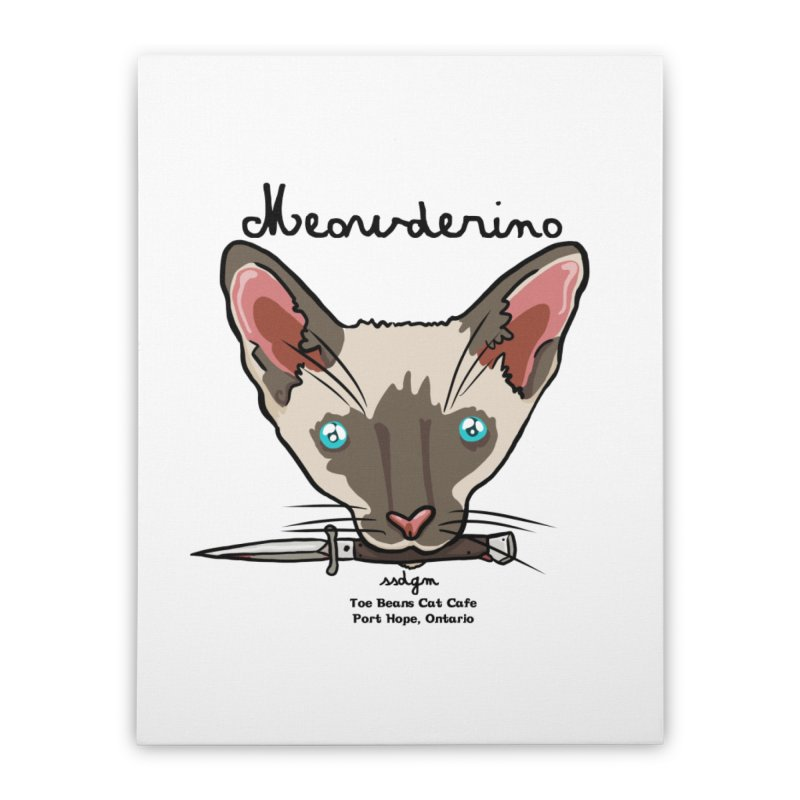 Meowderino - MFM Fan Home Stretched Canvas by Toe Beans Cat Cafe Online Shop