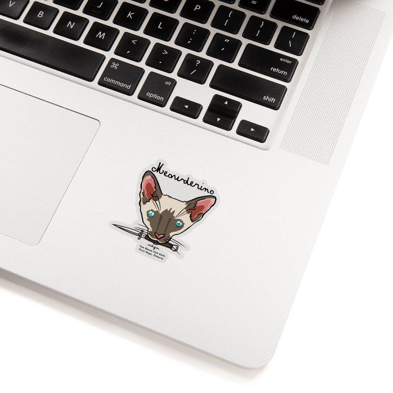 Meowderino - MFM Fan Accessories Sticker by Toe Beans Cat Cafe Online Shop