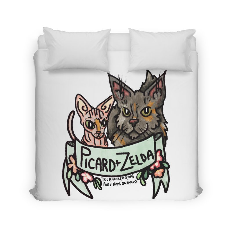 Picard & Zelda Home Duvet by Toe Beans Cat Cafe Online Shop