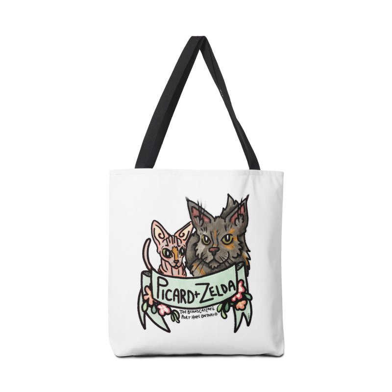 Picard & Zelda Accessories Tote Bag Bag by Toe Beans Cat Cafe Online Shop