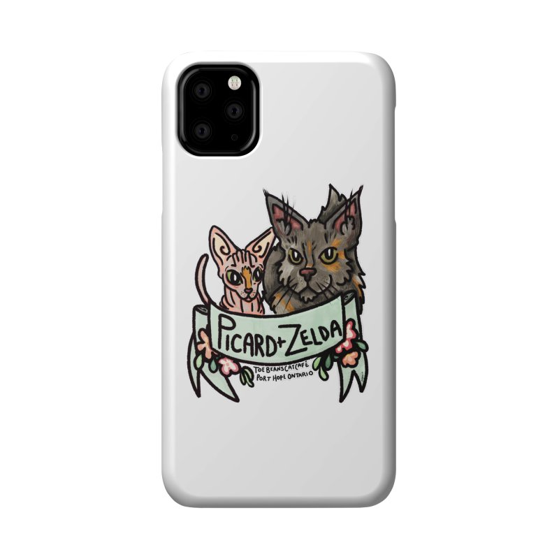 Picard & Zelda Accessories Phone Case by Toe Beans Cat Cafe Online Shop