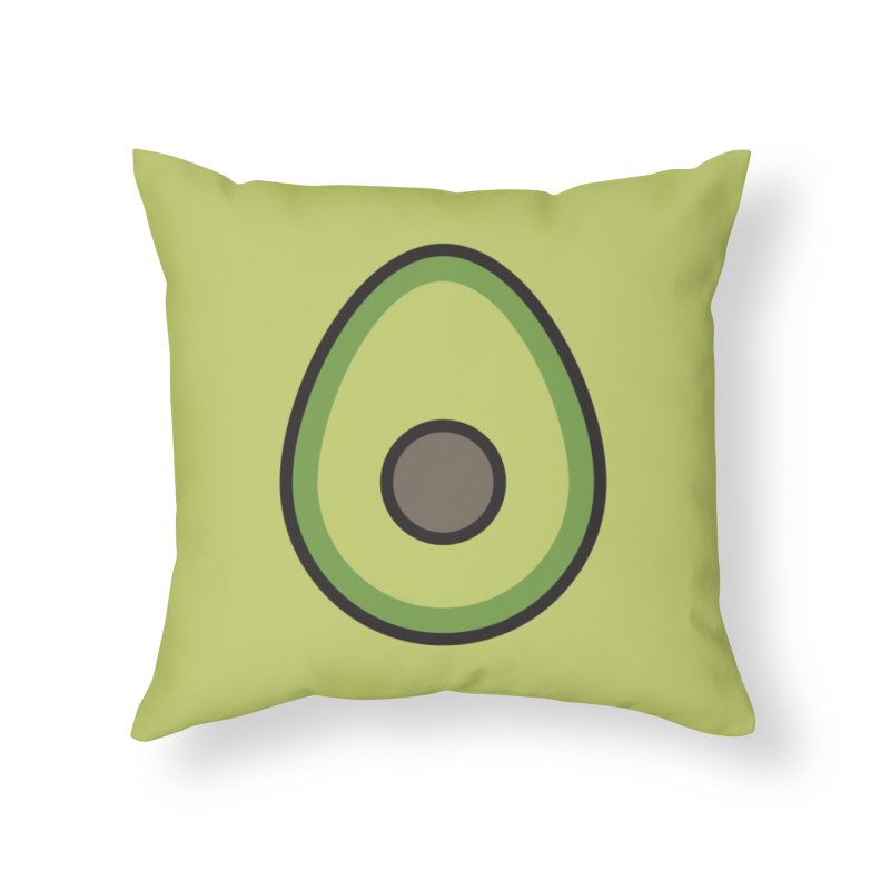 to [eat] Home Throw Pillow by to [wear]