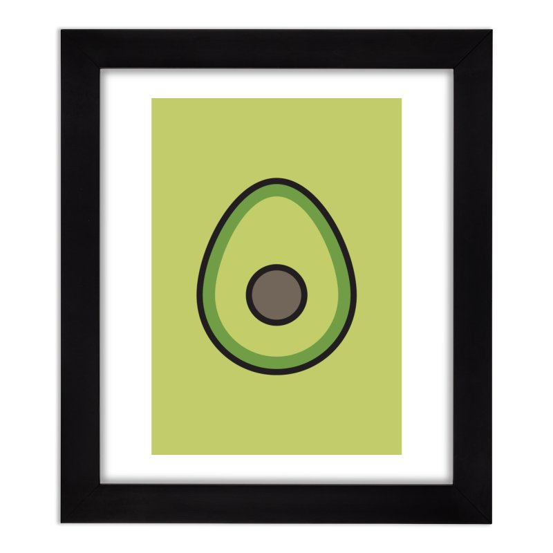 to [eat] Home Framed Fine Art Print by to [wear]