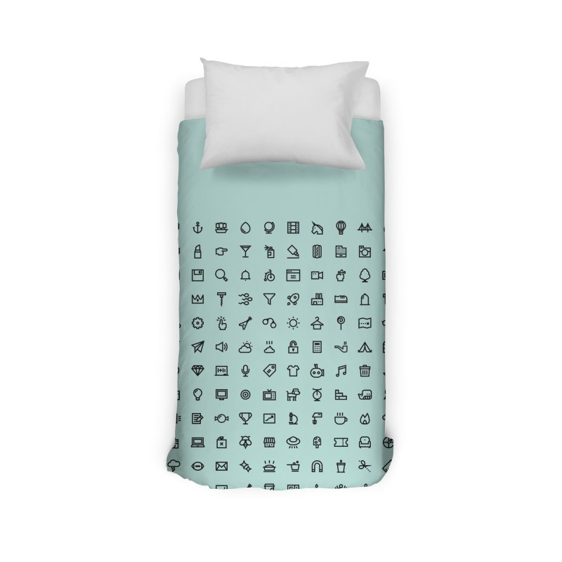 lines and angles Home Duvet by to [wear]