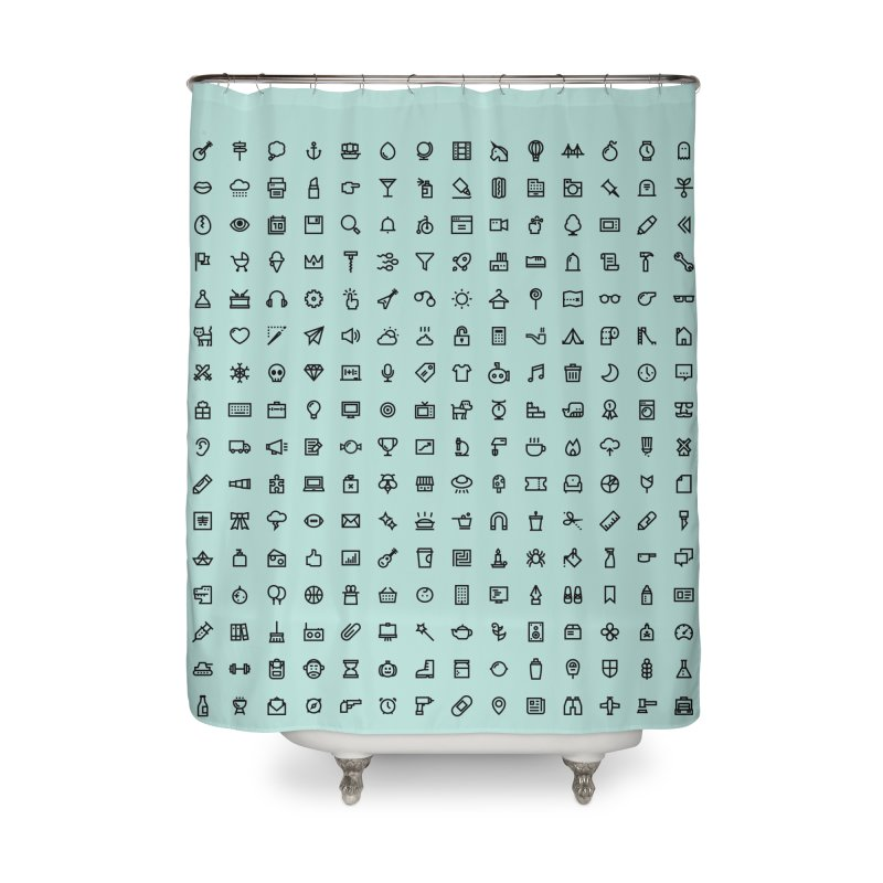 lines and angles Home Shower Curtain by to [wear]