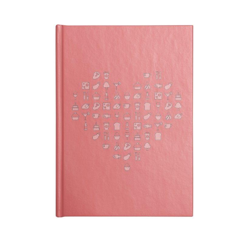 hatched Accessories Notebook by to [wear]
