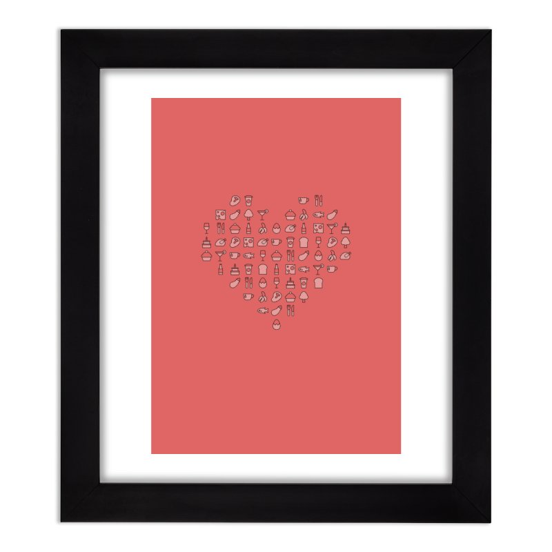 hatched Home Framed Fine Art Print by to [wear]