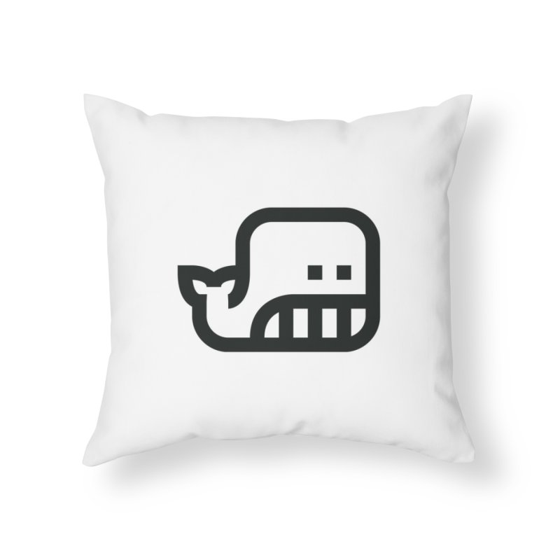 to [swim] Home Throw Pillow by to [wear]