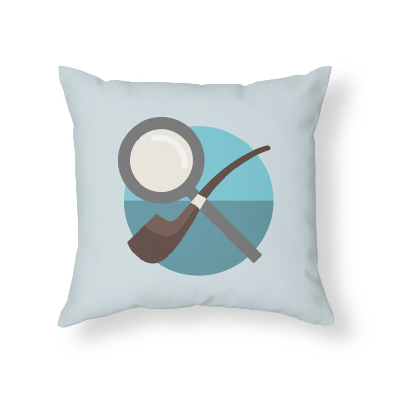 to [solve] Home Throw Pillow by to [wear]