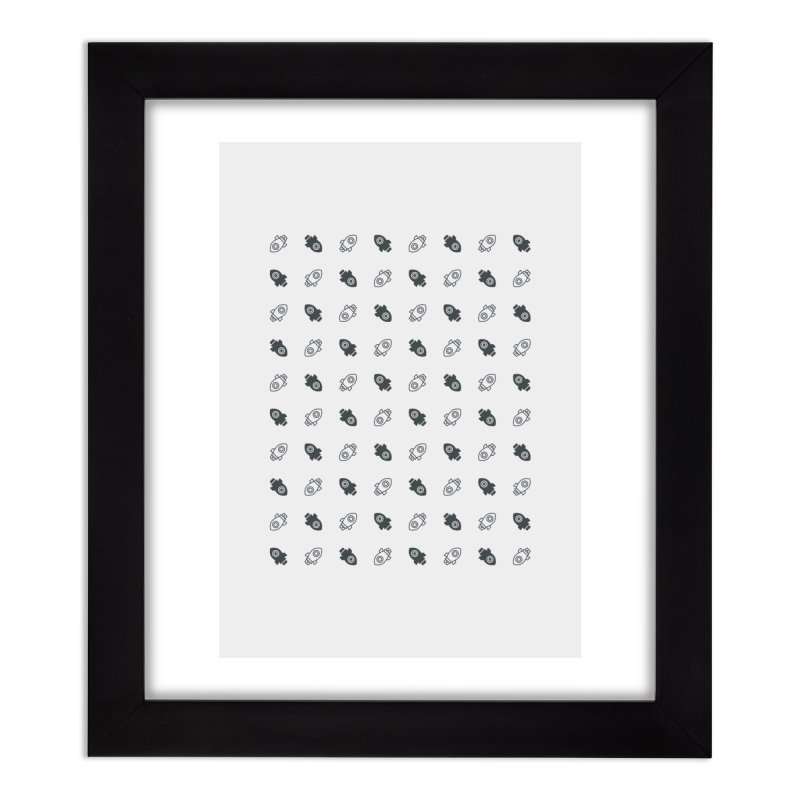 to [launch] Home Framed Fine Art Print by to [wear]