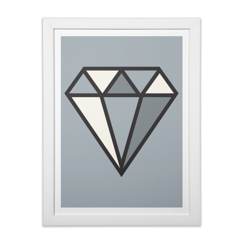 to [sparkle] Home Framed Fine Art Print by to [wear]