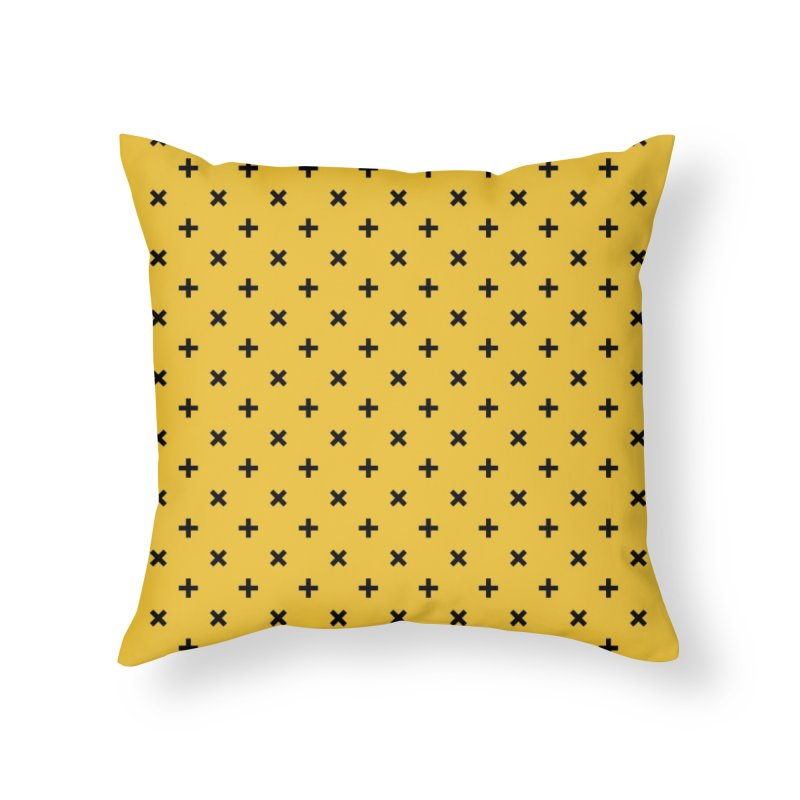 to [add] Home Throw Pillow by to [wear]
