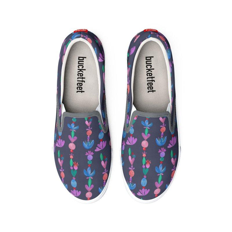 Balance Pattern - Scandinavian Folk Art Women's Shoes by toiledelina's Artist Shop