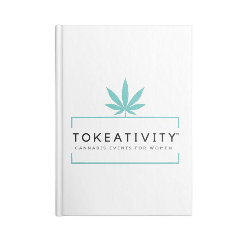 Classic Tokeativity Logo Accessories Notebook by The Tokeativity Shop