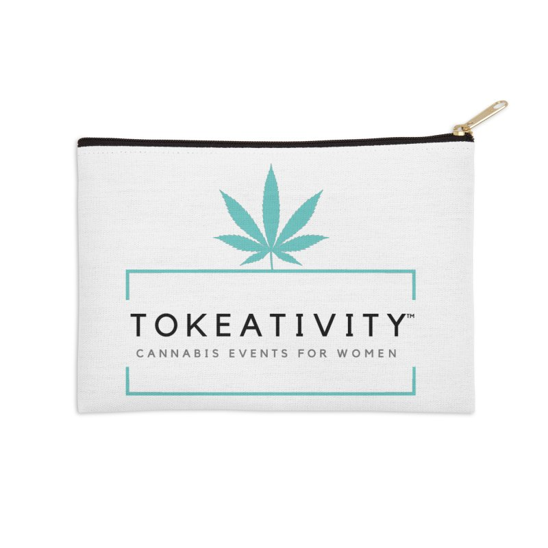 Classic Tokeativity Logo Accessories Zip Pouch by The Tokeativity Shop