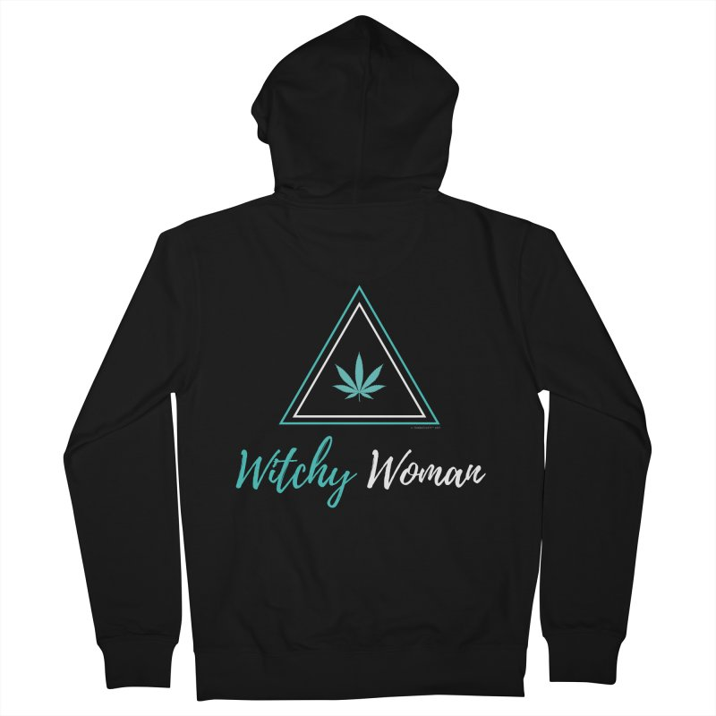 Witchy Woman Women's Zip-Up Hoody by The Tokeativity Shop