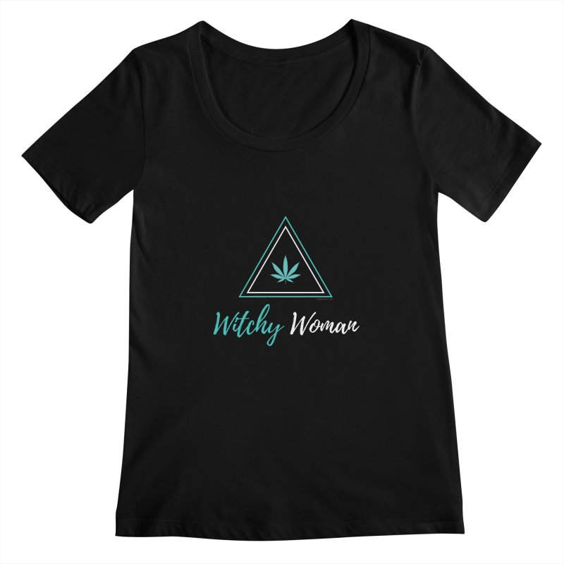 Witchy Woman Women's Scoopneck by The Tokeativity Shop