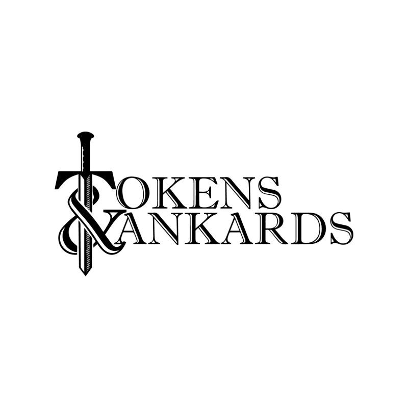 Black Logo by Tokens & Tankards