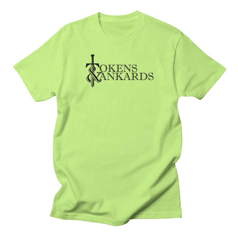 Black Logo Men's T-Shirt by Tokens & Tankards