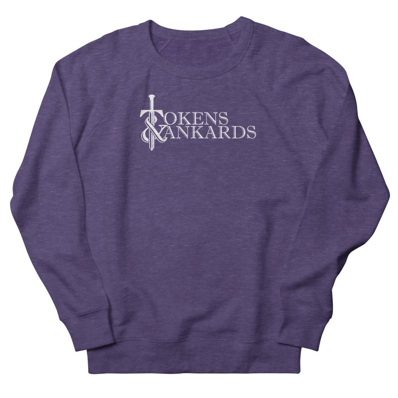 White Logo Men's Sweatshirt by Tokens & Tankards