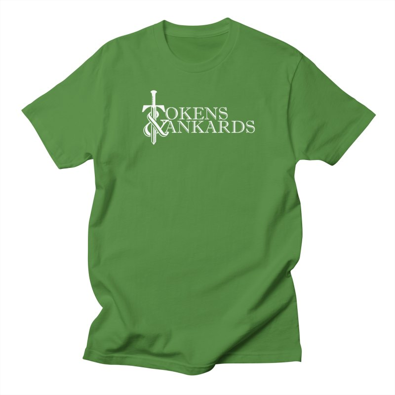 White Logo in Men's T-Shirt Clover by Tokens & Tankards