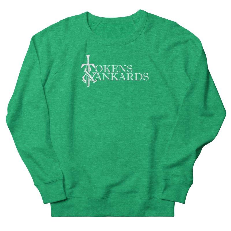 White Logo Women's Sweatshirt by Tokens & Tankards