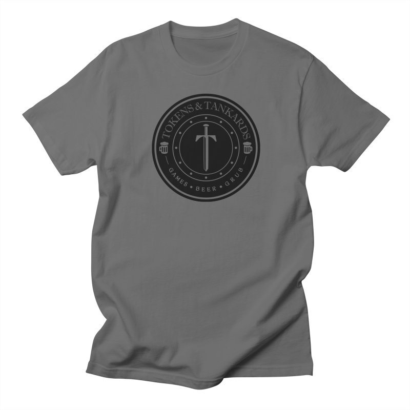 Dark Token Men's T-Shirt by Tokens & Tankards