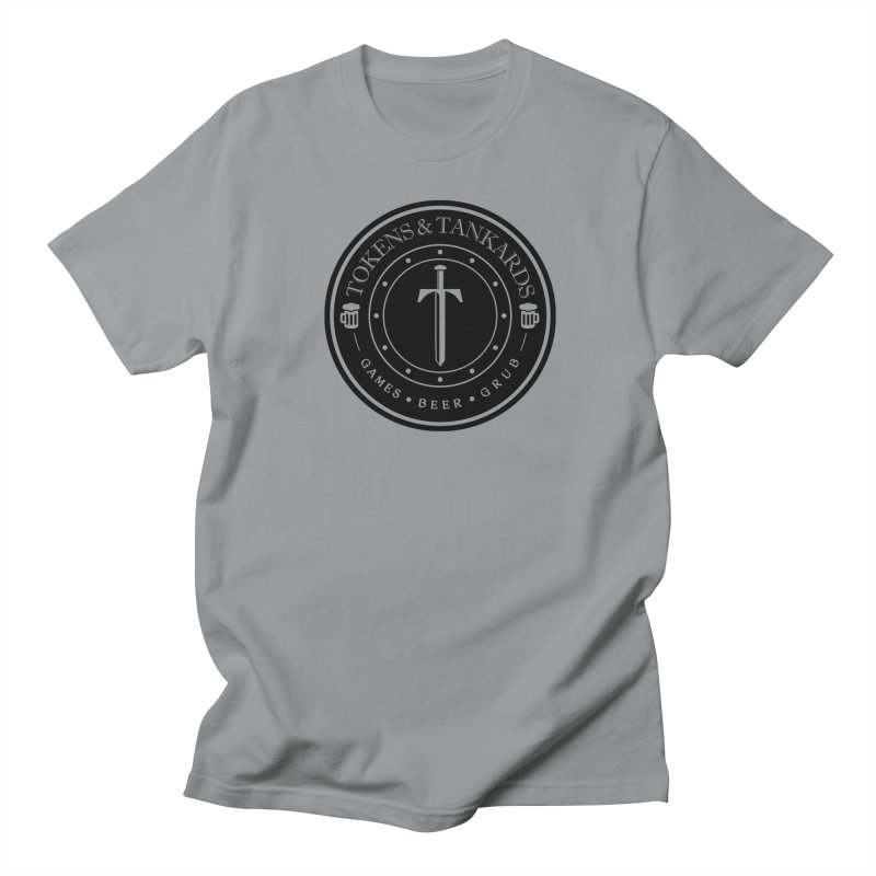 Dark Token Men's Regular T-Shirt by Tokens & Tankards