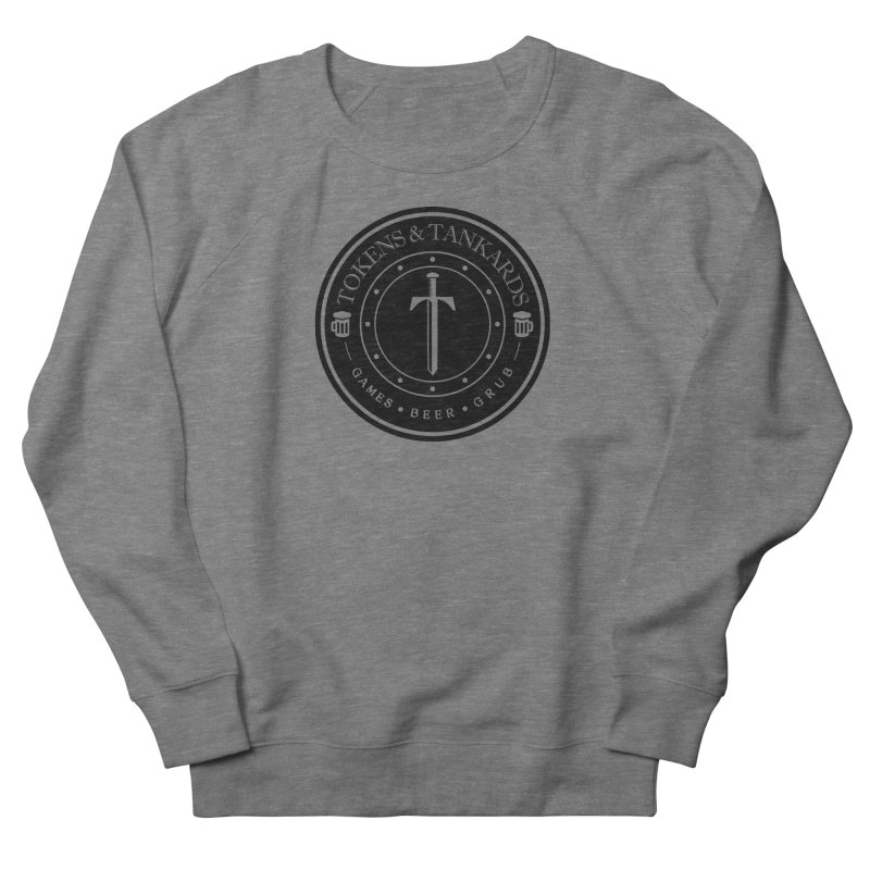 Dark Token Men's French Terry Sweatshirt by Tokens & Tankards