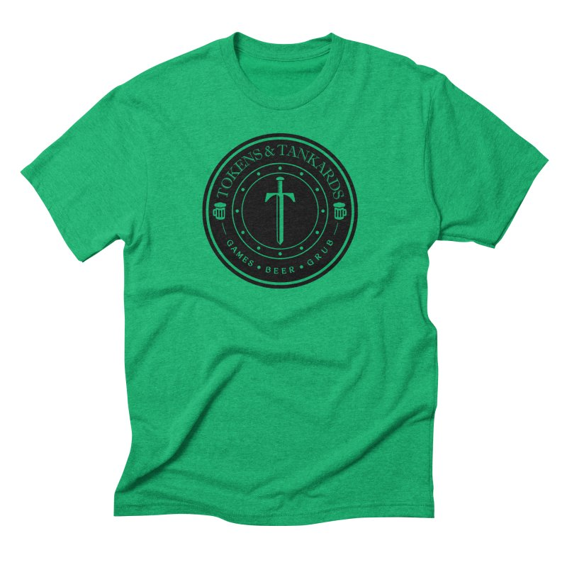 Dark Token Men's Triblend T-Shirt by Tokens & Tankards