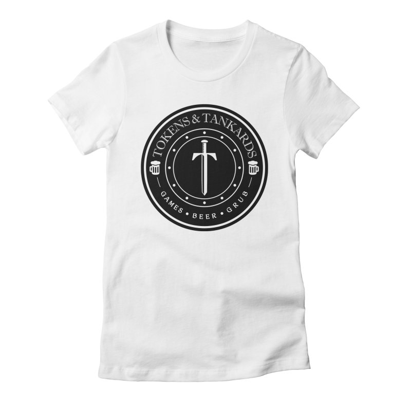 Dark Token Women's Fitted T-Shirt by Tokens & Tankards
