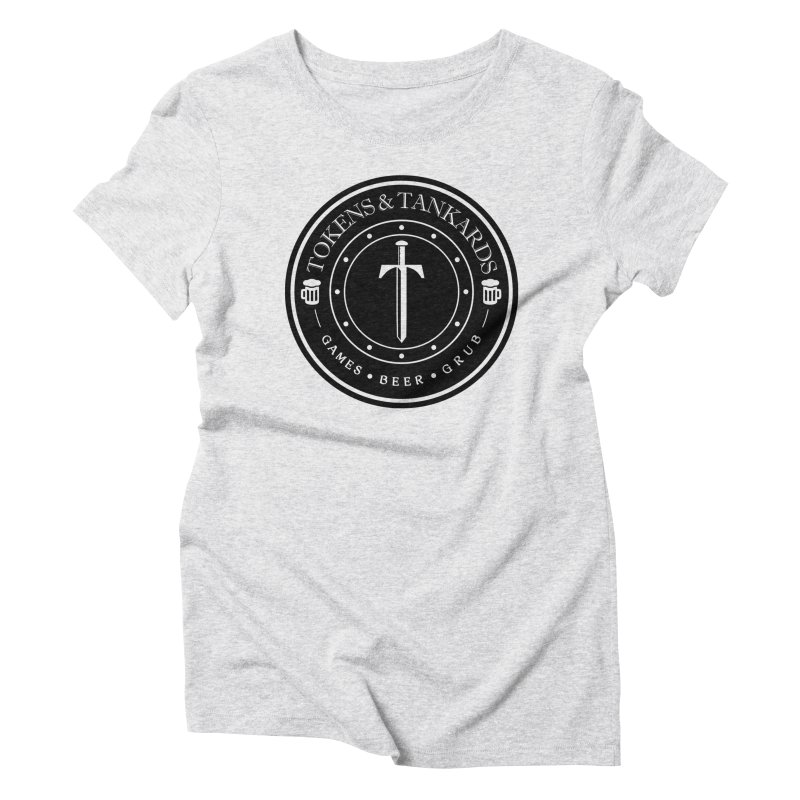 Dark Token Women's Triblend T-Shirt by Tokens & Tankards