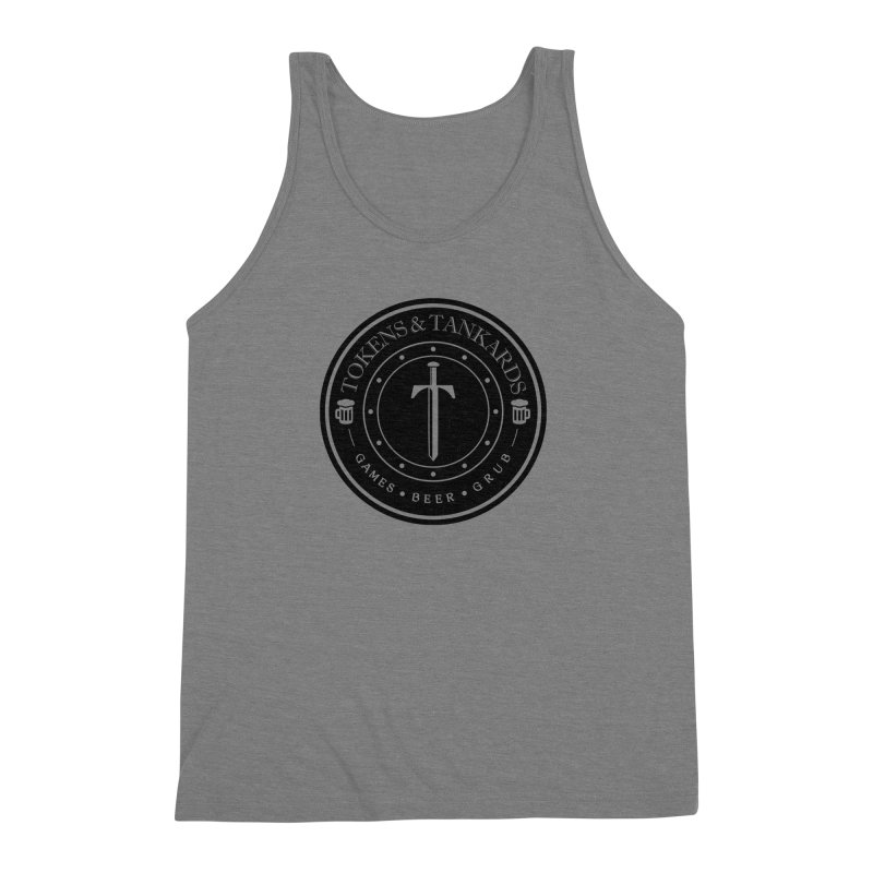 Dark Token Men's Tank by Tokens & Tankards