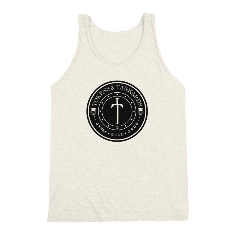 Dark Token Men's Triblend Tank by Tokens & Tankards