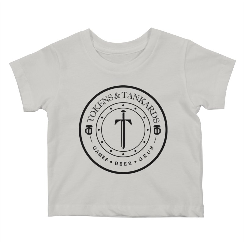 Light Token Kids Baby T-Shirt by Tokens & Tankards