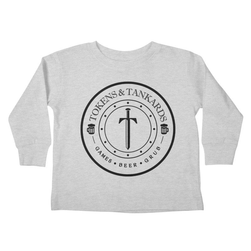 Light Token Kids Toddler Longsleeve T-Shirt by Tokens & Tankards