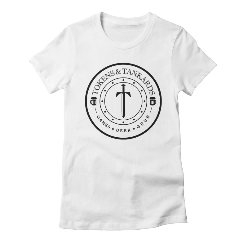 Light Token Women's Fitted T-Shirt by Tokens & Tankards