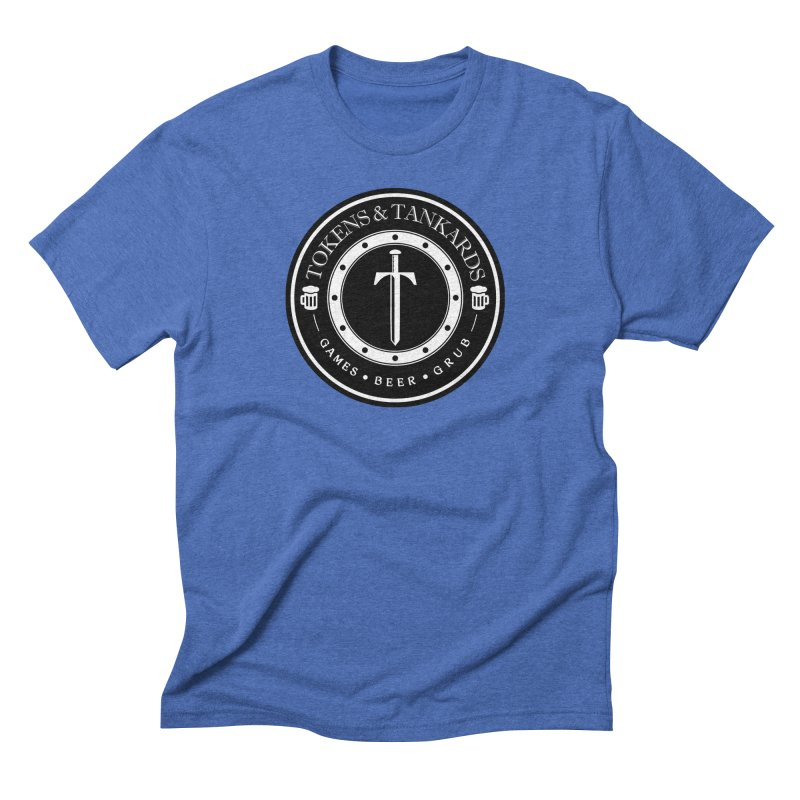 White Banded Token Men's T-Shirt by Tokens & Tankards