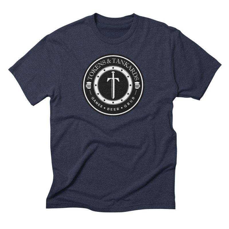 White Banded Token Men's T-Shirt by Tokens & Tankards