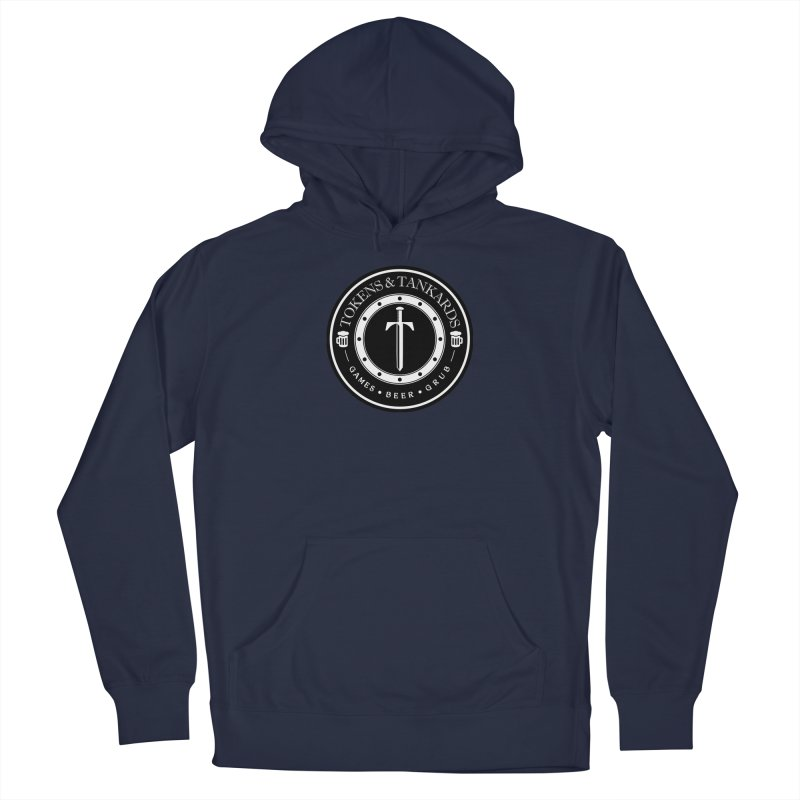 White Banded Token Men's Pullover Hoody by Tokens & Tankards