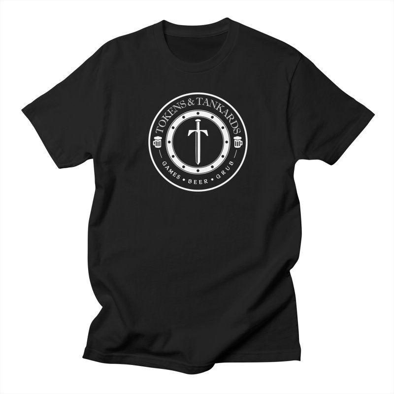 White Banded Token Men's Regular T-Shirt by Tokens & Tankards