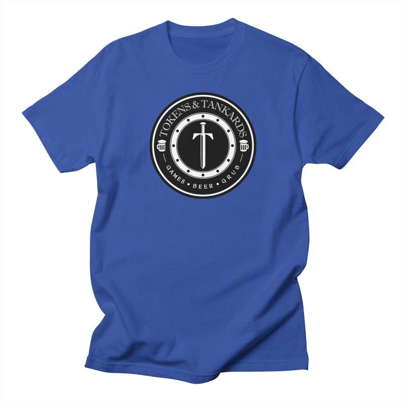 White Banded Token Men's Regular T-Shirt by Tokens & Tankards