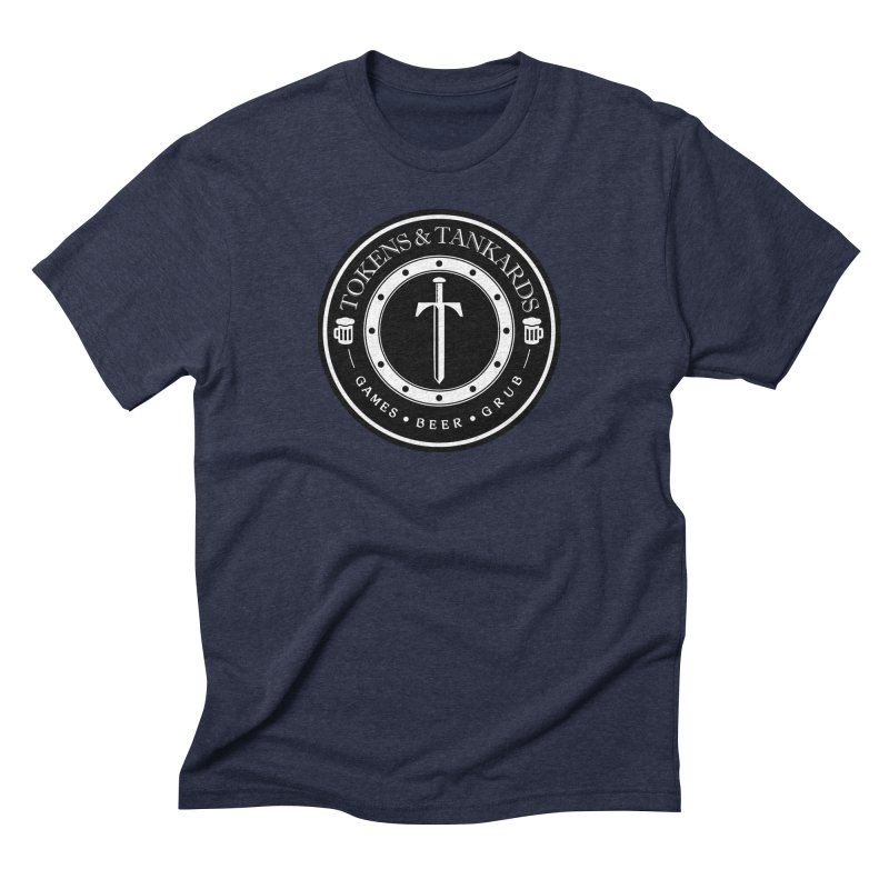 White Banded Token Men's Triblend T-Shirt by Tokens & Tankards