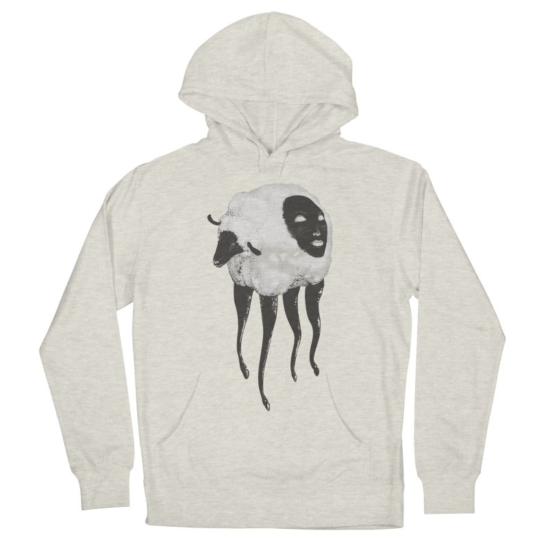The Dark Within Men's French Terry Pullover Hoody by tolagunestro's Artist Shop