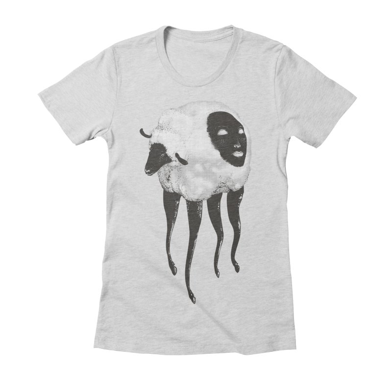 The Dark Within Women's Fitted T-Shirt by tolagunestro's Artist Shop