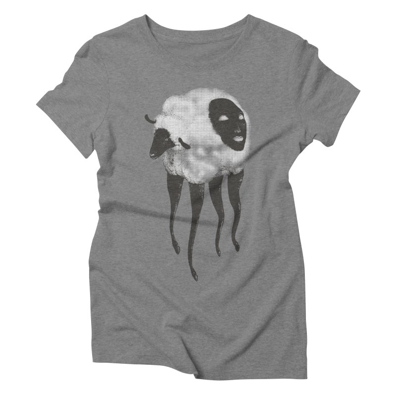 The Dark Within Women's Triblend T-Shirt by tolagunestro's Artist Shop