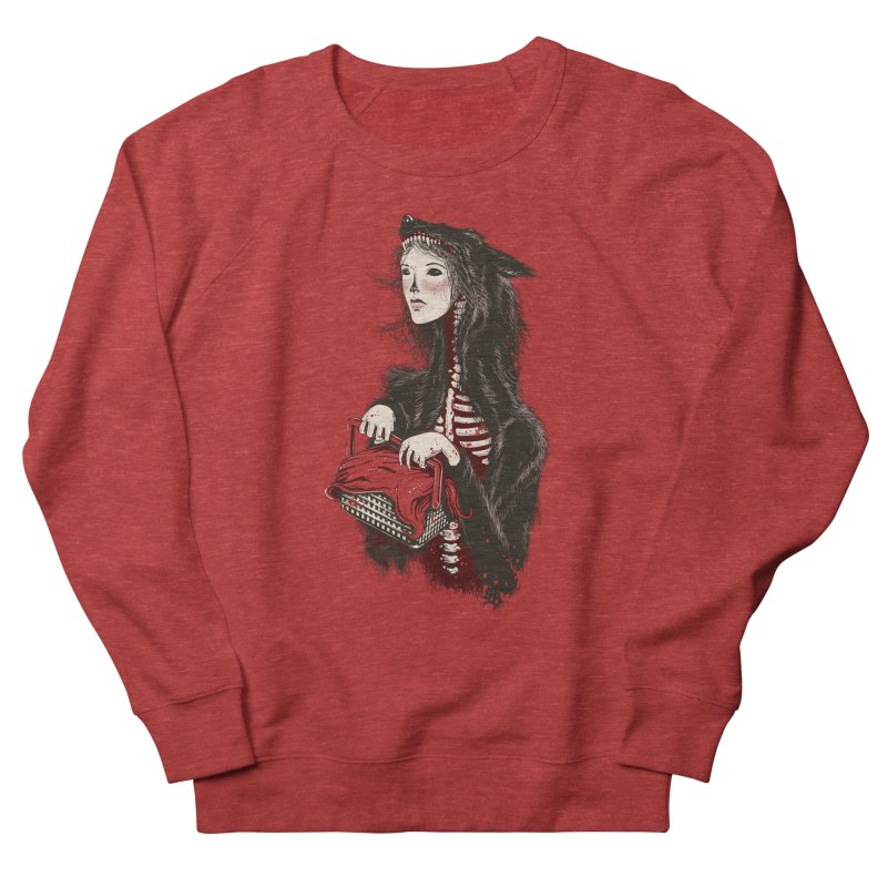 Red Women's Sweatshirt by tolagunestro's Artist Shop